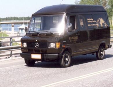 1997 alkoivat UPS-United Parcel Service -kuljetukset