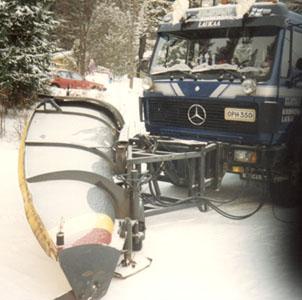 Korhonen Oy hoiti tielaitokselle talvikunnossapitoa